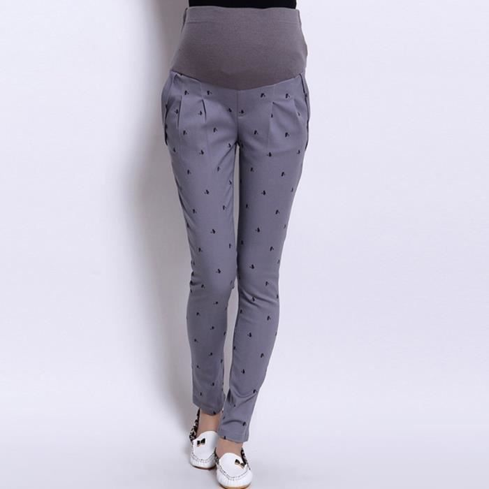 pantalons pour femmes enceintes jambières de vêtements de maternité