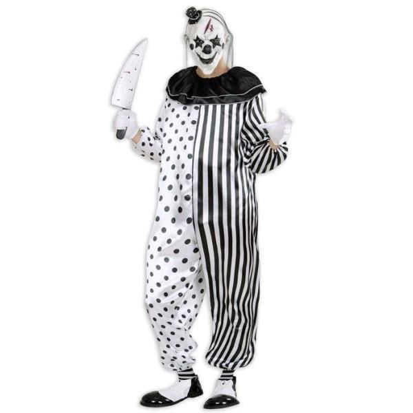 Combinaison pierrot le tueur taille m 40 42 achat - Jeux de clown tueur gratuit ...