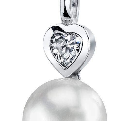 Collier avec Pendentif -Argent- Perles deau douce