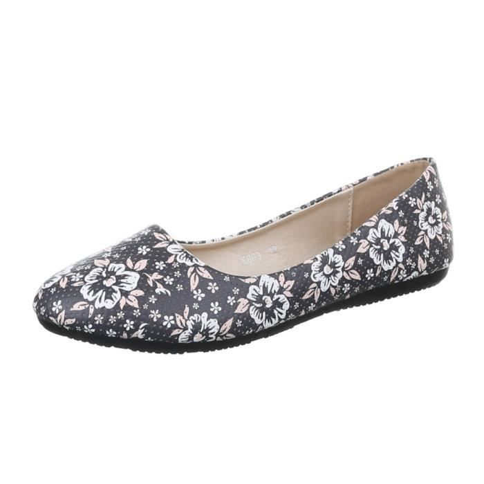 Femme ballerines chaussure babouche Loafers soulier