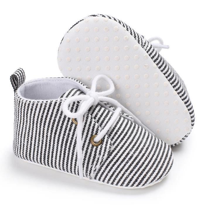 Marron-2018 Nouveau Printemps et automne Chaussures de bébé Tendance Loisirs Fond mou Bébé Chaussures de toile BTE7h0