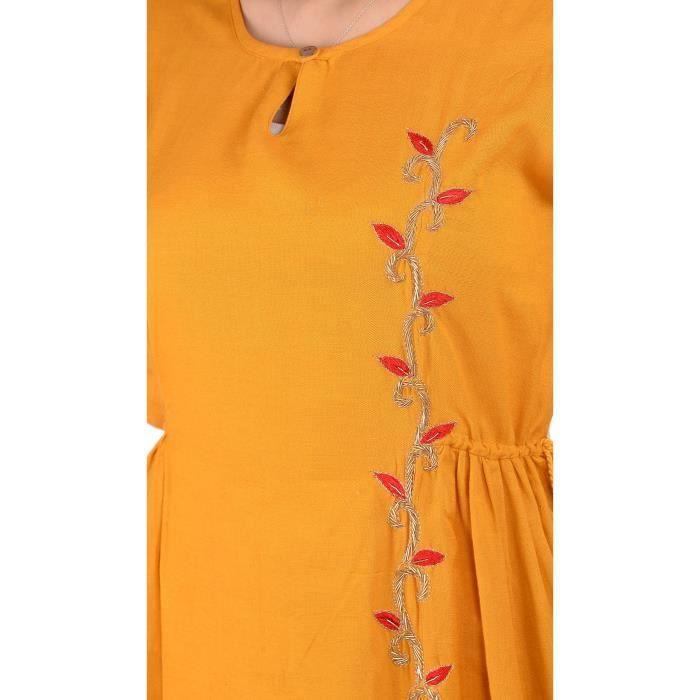 robe une ligne de femmes 1N6HM8 Taille-34