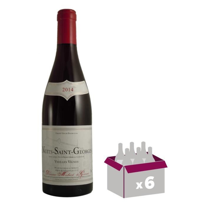 Domaine Machard de Gramont Nuits Saint Georges 2014 - Vin rouge