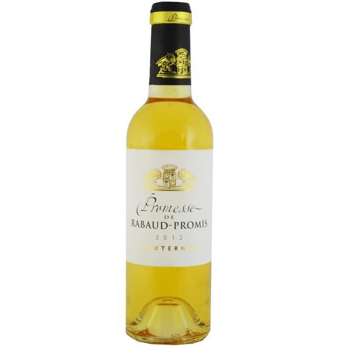 Demie Bouteille - Promesse de Rabaud Promis - 2012 - Vin BlancVIN BLANC