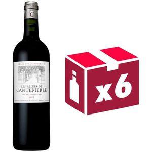 VIN ROUGE Allées de Cantemerle - Haut Médoc - Second Vin ...