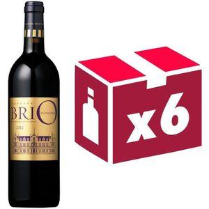 VIN ROUGE Brio de Cantenac 2012 - 2d vin du Château Cante...