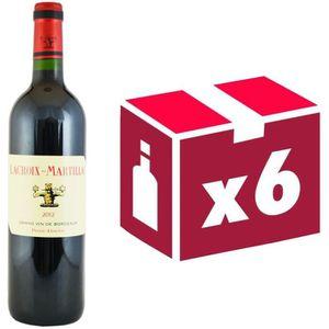 VIN ROUGE Château Lacroix Martillac Pessac 2012 - Vin Rouge