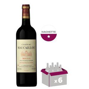VIN ROUGE Château Maucaillou Moulis 2012 - Vin rouge x6