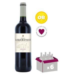 VIN ROUGE Château La Raze Beauvallet 2012 Médoc - Vin rouge