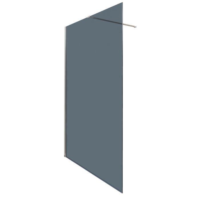 Aqua paroi de douche italienne fixe 120 cm verre - Porte de douche avec paroi fixe ...