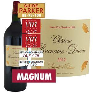 VIN ROUGE Magnum Château Branaire Ducru 2012 Saint-Julien -