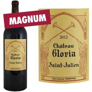 VIN ROUGE Magnum Château Gloria 2012 Saint-Julien - Vin roug