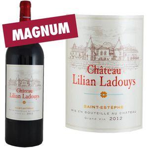 VIN ROUGE Magnum Château Lilian Ladouys 2012 Saint Estèphe -