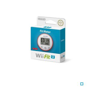 NINTENDO Wii U Fit Meter - Rouge