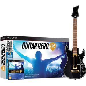 JEU PS3 Guitar Hero Live Jeu PS3