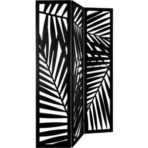 PARAVENT Atmosphera - Paravent noir contemporain H 170 cm L