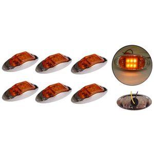 feux de gabarit led 12v orange achat vente feux de. Black Bedroom Furniture Sets. Home Design Ideas