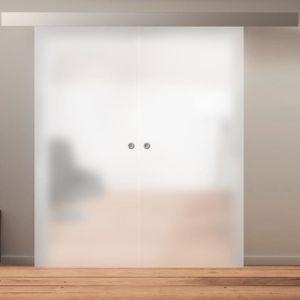 PORTE COULISSANTE Porte intérieure coulissante 176 x 203 cm, verre o