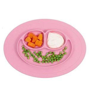 ASSIETTE - PLATEAU BÉBÉ DierCosy Bébé assiette Vaisselle silicone nourrir