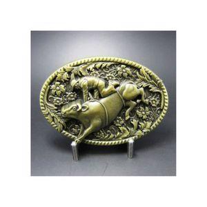 CEINTURE ET BOUCLE boucle de ceinture country rodéo dressage bison bo 5cd24844f11