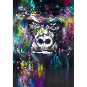 TABLEAU - TOILE Home Décoration Oils Paintings Abstract Animal Ora