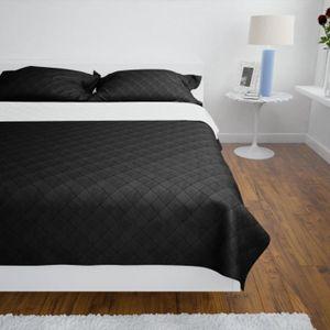 couvre lit noir et blanc pas cher Couvre lit noir et blanc   Achat / Vente pas cher couvre lit noir et blanc pas cher