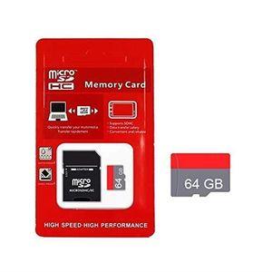 CARTE MÉMOIRE VSHOP® Pack 2 en 1 - Carte Mémoire Micro Sd 64Gb +