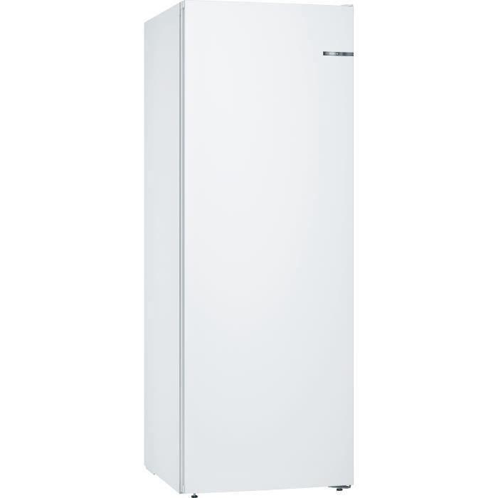BOSCH GSN58VWEV - Congélateur armoire - 365L - Froid ventilé - Classe A++ - L 70 x H 191 cm - Blanc