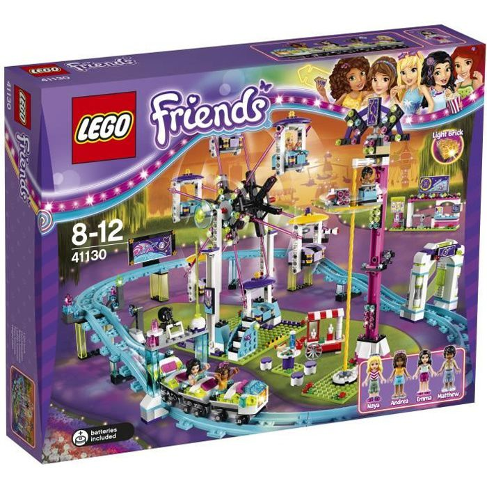 LEGO 41130 Les montagnes russes du parc d attractions