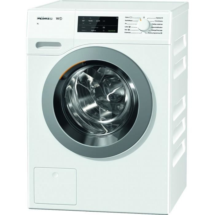 MIELE 10848220 Lave-linge frontal - 9 kg - 1600 trs / min - A+++ - Blanc - Moteur induction