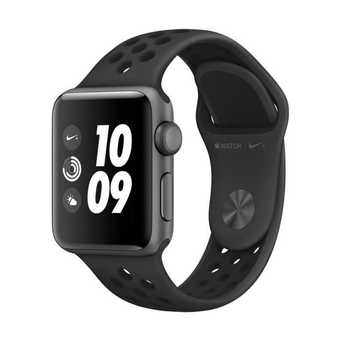 MONTRE CONNECTÉE APPLE Watch Nike+ GPS - Boîtier 38 mm Gris sidéral