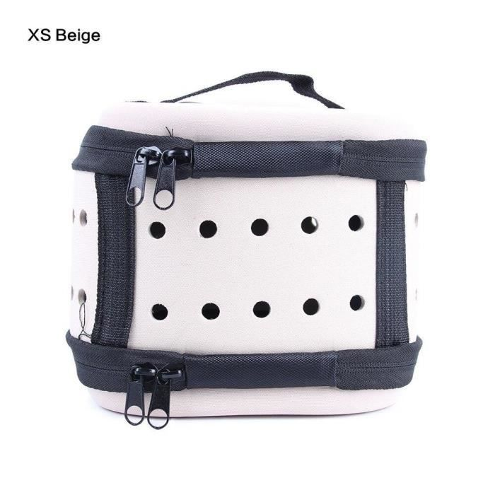 Sac Transport Chat Xs Beige Pour 28107222188096