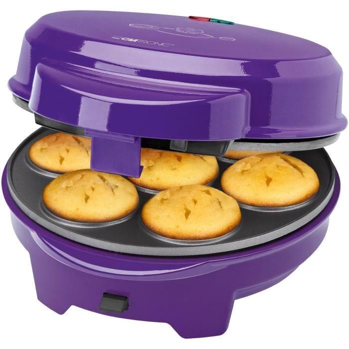 APPAREIL À MUFFINS Clatronic Machine à beignets 3en1 muffins & gâteau