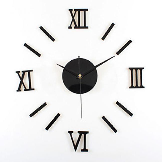 lookshop horloge murale de style contemporain avec chiffres