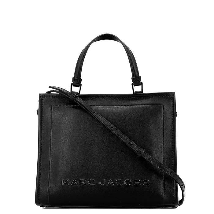 Cuir Noir Femme Main Sac Jacobs M0014496001 Achat À Marc Vente jA54LR3q