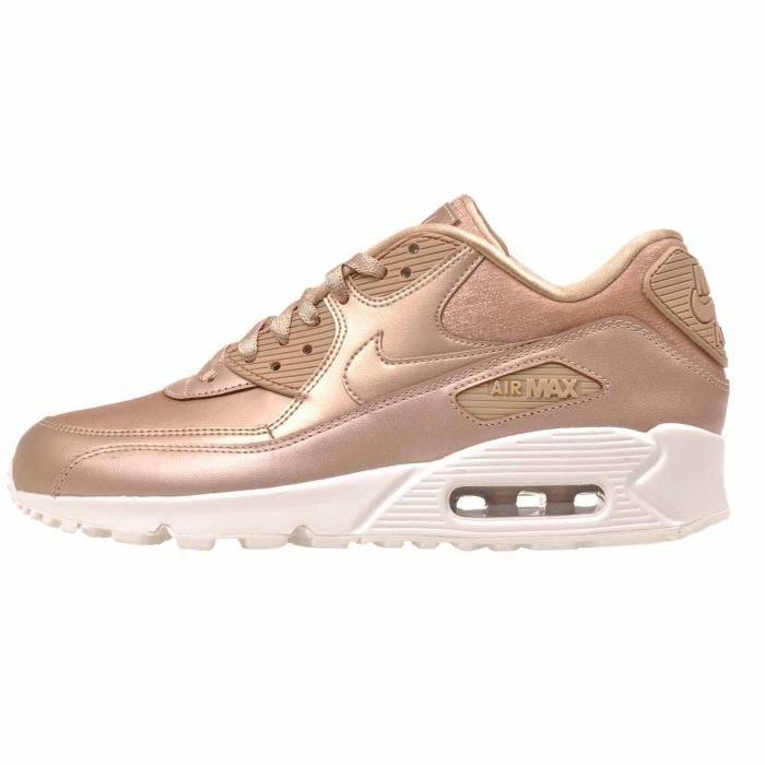 hot sale online a8ad7 21e1b BASKET Nike Chaussure de course à pied femme air max 90 p