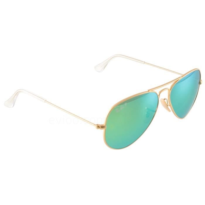 727aac6e7af7c5 Ray Ban Aviator 3025 Dore Taille   58 - Achat   Vente lunettes de ...