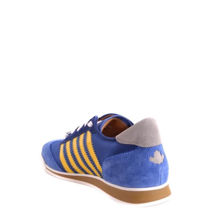 DSQUARED2 HOMME S17SN419839M226O MULTICOLORE POLYAMIDE BASKETS