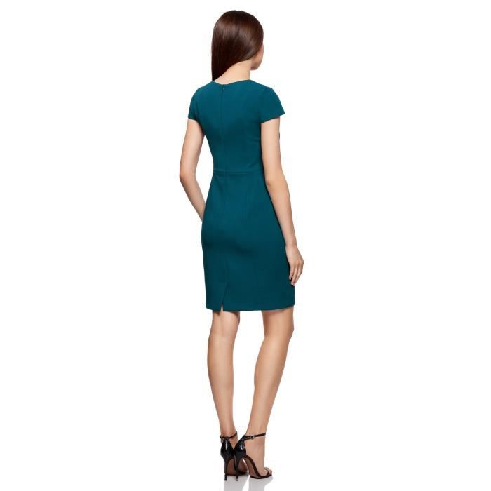 Womens Square Neck Pencil Dress In Heavyweight Fabric 2RX0WG Taille-34