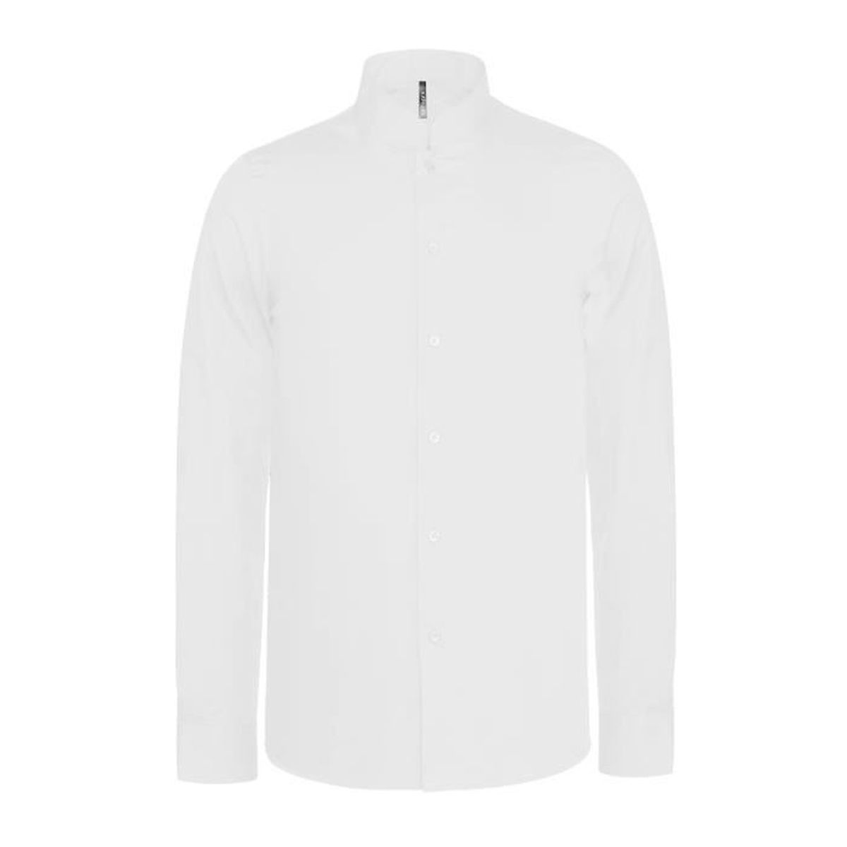 CHEMISE COL MAO MANCHES LONGUES White White Achat Vente