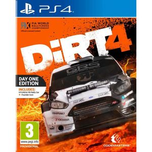 JEU PS4 Dirt 4 - Edition Day One Jeu PS4