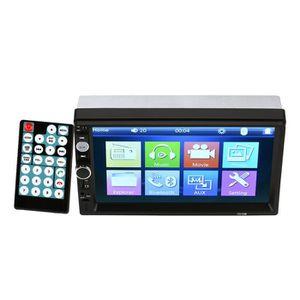 AUTORADIO 7.0 pouces MP5 MP3 Bluetooth Autoradio HD 2 DIN US
