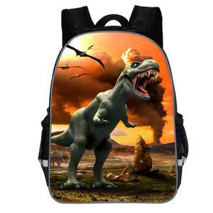 CARTABLE Cartable Enfant Garçon Dinosaure Sac à Dos Scolair