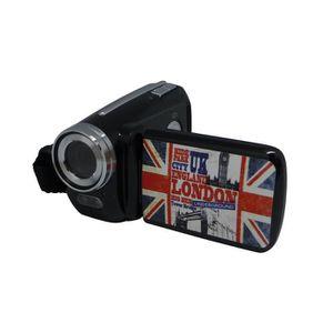 CAMÉSCOPE ENFANT AKOR Caméra Numérique 3 Décors Noire - 5 Mp - Zoom