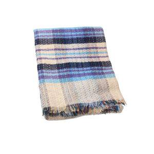 plaid laine achat vente plaid laine pas cher cdiscount. Black Bedroom Furniture Sets. Home Design Ideas