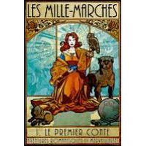 JEU SOCIÉTÉ - PLATEAU Mille-Marches 1 Premier Conte
