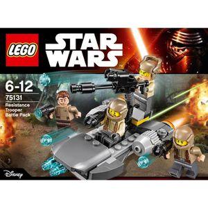 ASSEMBLAGE CONSTRUCTION LEGO® Star Wars™ 75131 Pack de Combat de la Résist