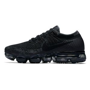 promo code 829ae fbe39 BASKET Baskets Nike Air VaporMax Flyknit Noir Chaussures