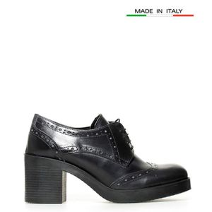 ESCARPIN Gioseppo - Rowena cuir noir chaussures yagrave; ha