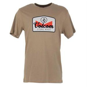 T-SHIRT Volcom Cristicle BSC SS Cotton T-Shirt en Sand A35 eaa61d247c70